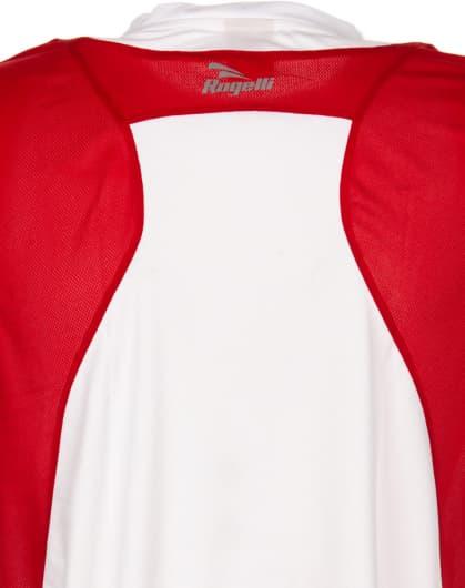 Funkční tričko Rogelli DUTTON, bílo-černo-červené
