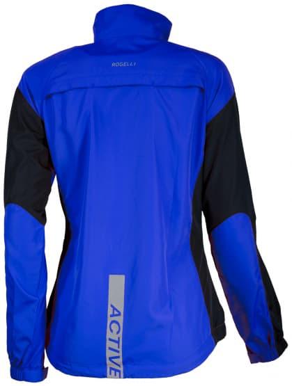 Dámská běžecká větrovka Rogelli ELVI, modro-černá