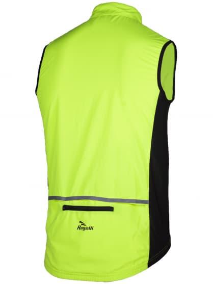 Cyklistická vesta Rogelli CANARO, reflexní žlutá