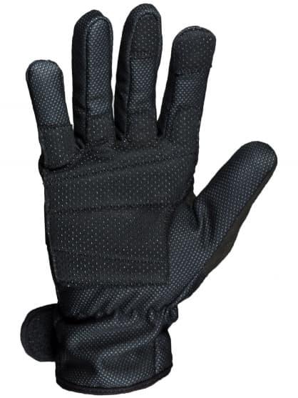 Slabé zimní membránové rukavice s polstrováním dlaně Rogelli ALBERTA 2.0, černé