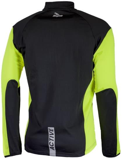 Funkční běžecké oblečení Rogelli D-MEN, reflexní žluté-černé