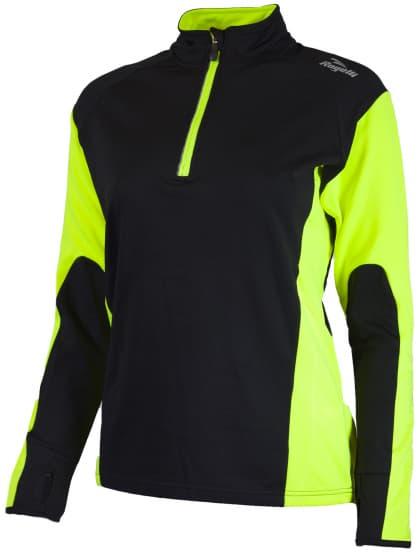 Dámské funkční oblečení Rogelli LADY-E, reflexní žluté-černé