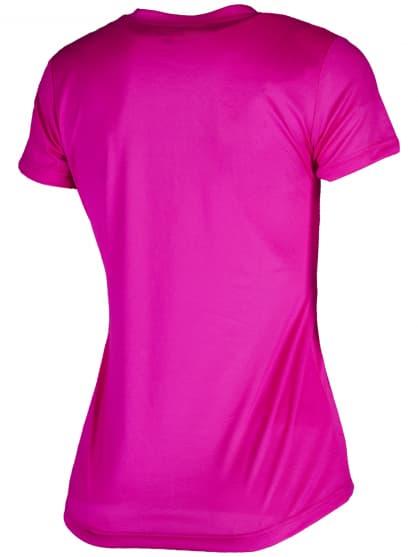Dámské funkční triko Rogelli PROMOTION Lady, reflexní růžové