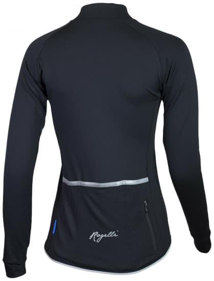 Dámský cyklodres Rogelli BENICE 2.0 s dlouhým rukávem, černý