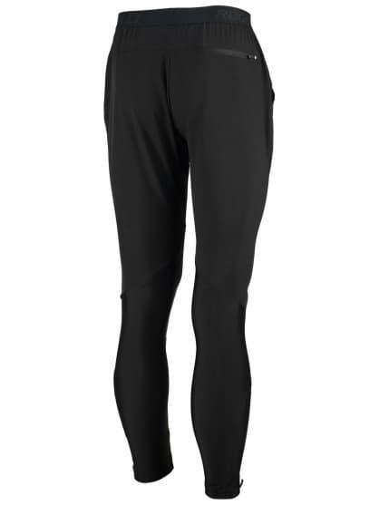 Zahřívací kalhoty Rogelli EVERMORE pro oblečení na kraťasy před a po závodech, černé
