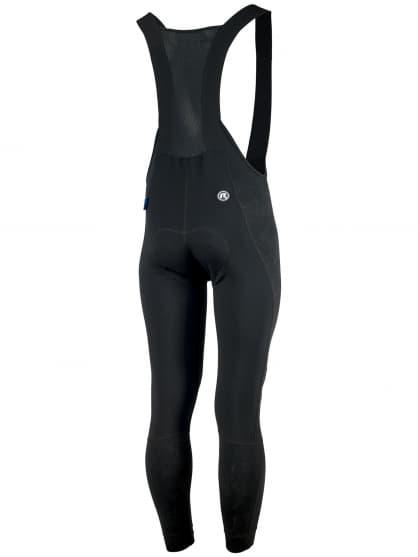 Zimní cyklokalhoty s reflexními prvky Rogelli VENOSA 3.0 s ochranou kolen a břicha, černé