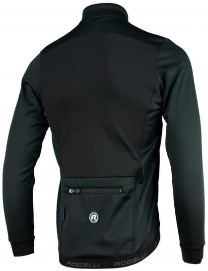 ... černá Lehká softshellová bunda s prodyšným zádovým panelem Rogelli  PESARO 2.0 efab51d7e8