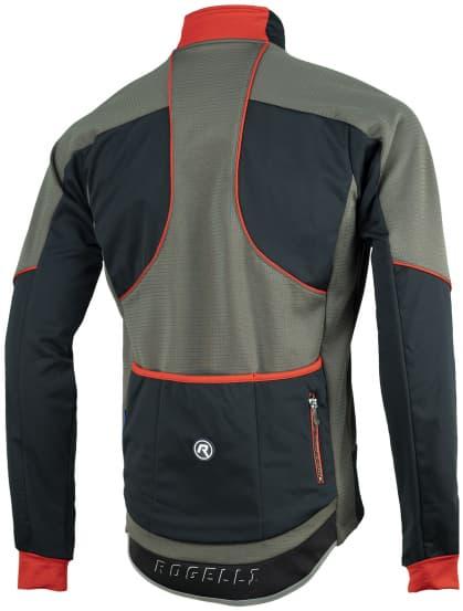 ... Softshellová bunda se silným zateplením Rogelli TRANI 4.0 s prodyšným  zádovým panelem 0cddd0428d