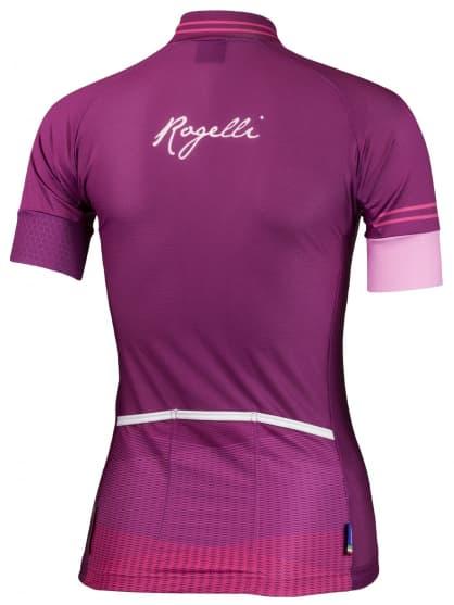... vínový Ultralehký dámský cyklodres Rogelli STELLE s krátkým rukávem d8b28b9429