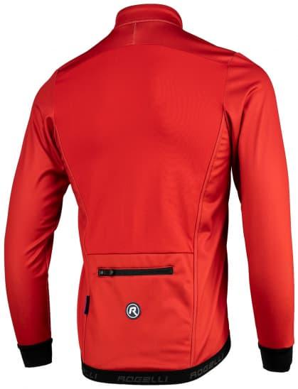 ... červená Lehká softshellová bunda s prodyšným zádovým panelem Rogelli  PESARO 2.0 9625fff745