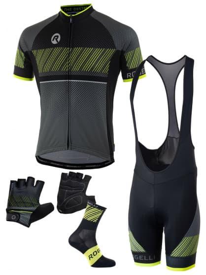 9b0605aeef5 Pánské cyklistické oblečení Rogelli RITMO