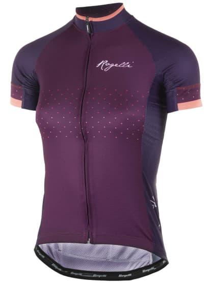 Dámský cyklistický dres Rogelli PRIDE s krátkým rukávem a střihem na tělo bce1a618eb