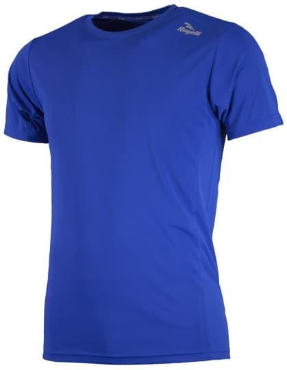 Sportovní funkční triko Rogelli BASIC z hladkého materiálu, modré