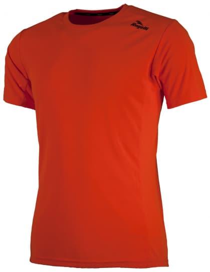 Sportovní funkční triko Rogelli BASIC z hladkého materiálu, oranžové