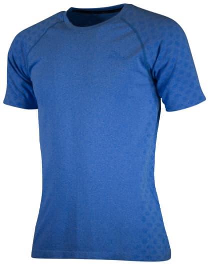 Funkční bezešvé triko Rogelli SEAMLESS, modrý melír