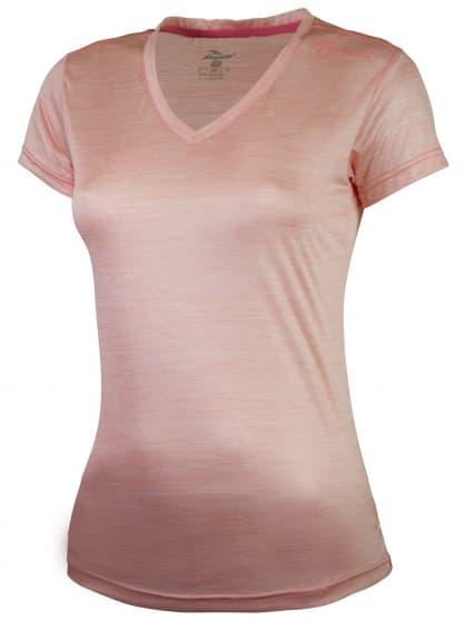 Dámské funkční tričko Rogelli DESIRE, růžový melír