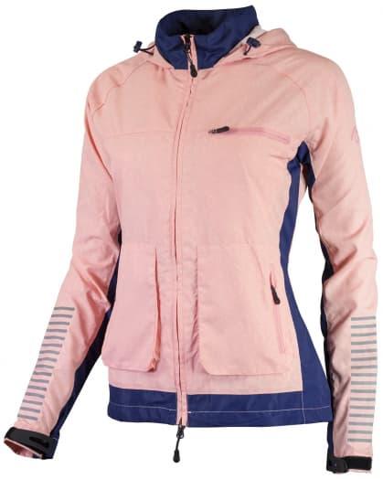 Dámská běžecké bunda Rogelli DESIRE, modrá-růžový melír