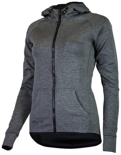 TRANING, dámská vesta s kapucí, šedá