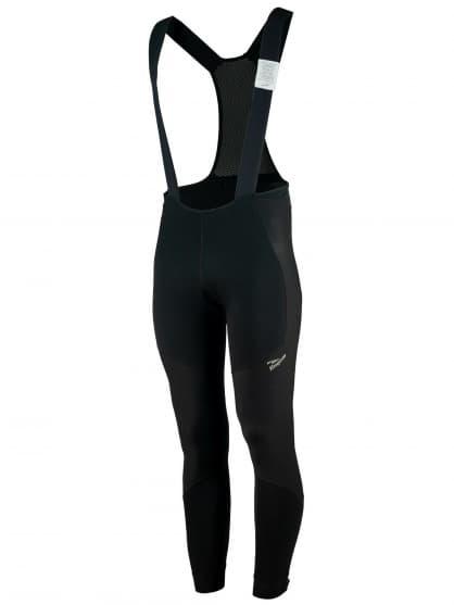 Zimní softshellové kalhoty Rogelli ARTICO NO PAD s ochranou břicha, černé