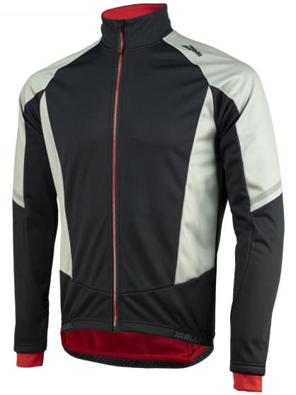 Membránová zimní bunda se silným zateplením Rogelli UBALDO 3.0, šedo-černá