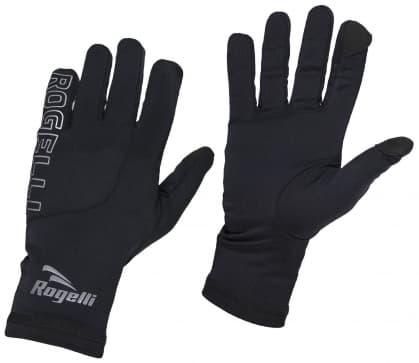 Pánské běžecké zimní rukavice Rogelli TOUCH, černé