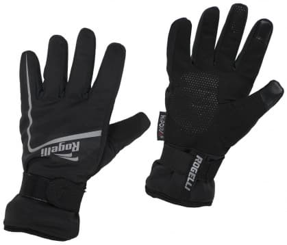 Hřejivé zimní sportovní rukavice Rogelli SHIELD, černé