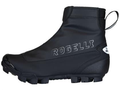 Zateplené zimní cyklistické MTB tretry Rogelli ARTIC, černé