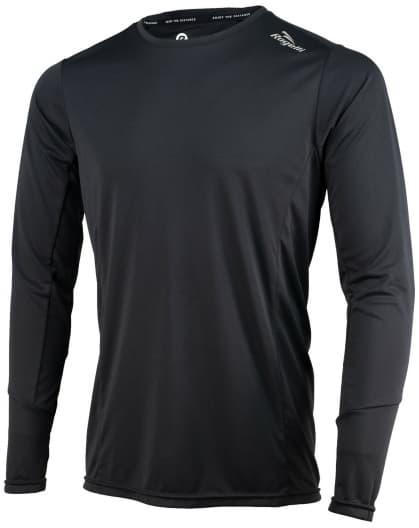 Sportovní funkční triko Rogelli BASIC s dlouhým rukávem, černé