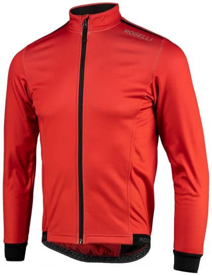 Lehká softshellová bunda s prodyšným zádovým panelem Rogelli PESARO 2.0, červená
