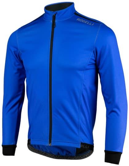 Lehká softshellová bunda s prodyšným zádovým panelem Rogelli PESARO 2.0, modrá