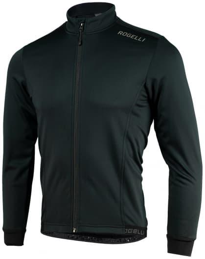 Lehká softshellová bunda s prodyšným zádovým panelem Rogelli PESARO 2.0, černá