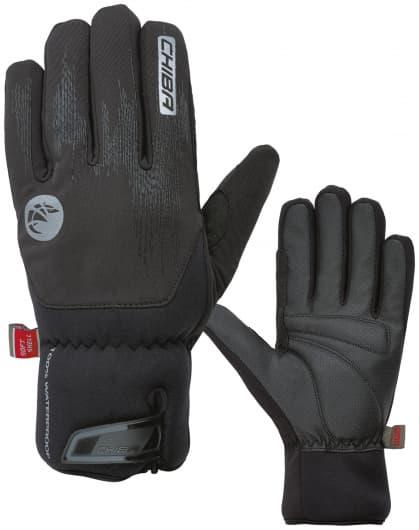 Velmi silně hřejivé zimní rukavice DRY STAR SUPERLIGHT s odlehčením a nepromokavou membránou, černá