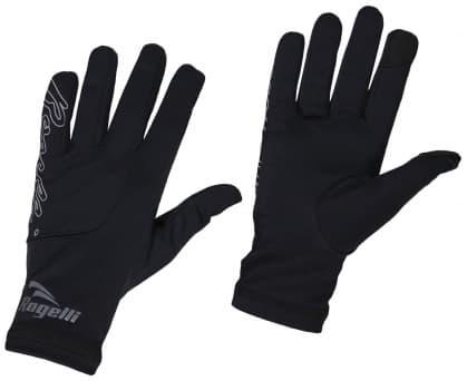 Dámské běžecké zimní rukavice Rogelli TOUCH, černé