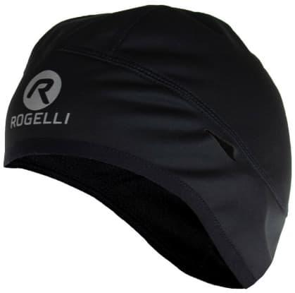 Softshellová čepice pod helmu Rogelli LAZIO, černá