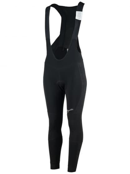 Dámské zimní cyklokalhoty s reflexními prvky Rogelli VENOSA 3.0 s ochranou kolen a břicha, černé