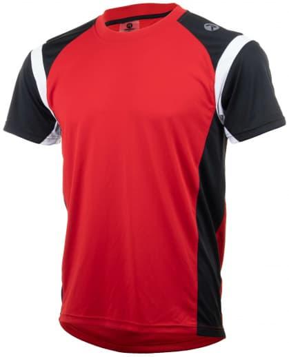 Funkční tričko Rogelli DUTTON, červeno-černo-bílé