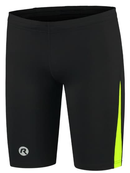 Běžecké kraťasy Rogelli DIXON, černo-reflexní žluté