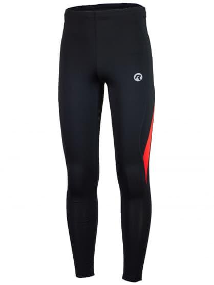 Běžecké kalhoty Rogelli DUNBAR, černo-červené