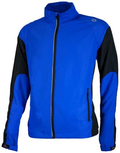 Běžecká větrovka Rogelli DRUMMOND, modro-černá