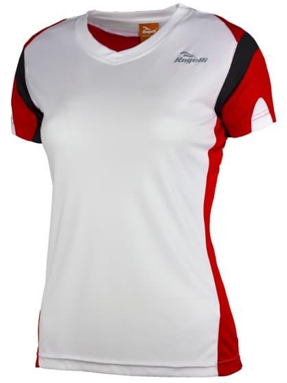 Dámské funkční tričko Rogelli EABEL, bílo-červeno-černé