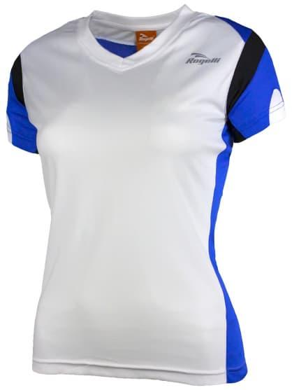 Dámské funkční tričko Rogelli EABEL, bílo-modro-černé
