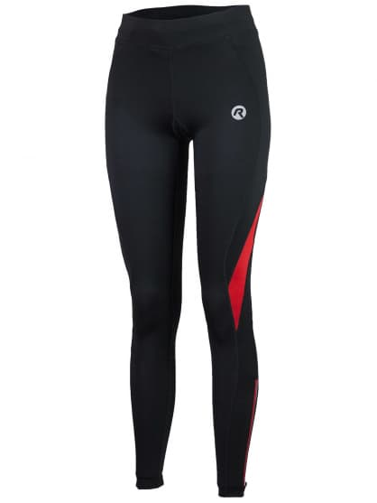 Dámské běžecké kalhoty Rogelli EMNA, černo-červené