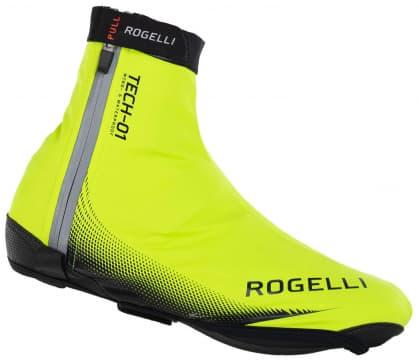 Nepromokavé ultralehké cyklonávleky na tretry Rogelli FIANDREX, reflexní žluté
