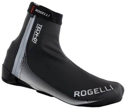 Nepromokavé ultralehké cyklonávleky na tretry Rogelli FIANDREX, černo-stříbrné