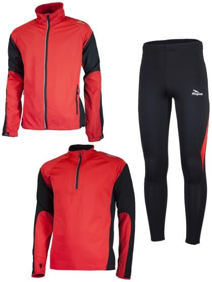 Funkční běžecké oblečení Rogelli D-MEN, červené