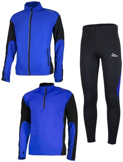 Funkční běžecké oblečení Rogelli D-MEN, modré