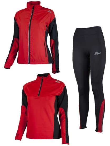 Dámské funkční oblečení Rogelli LADY-E, červené