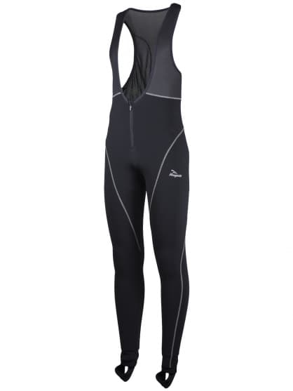 Zateplené sportovní kalhoty se zipem na břiše Rogelli BARGA, černé