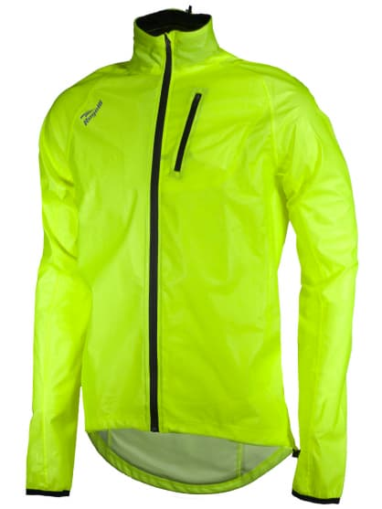 Cyklistická pláštěnka Rogelli OHIO, reflexní žlutá