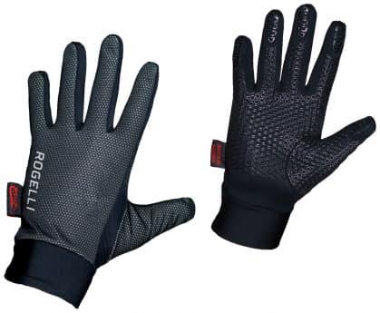 Slabé zimní membránové rukavice Rogelli LAVAL, černé